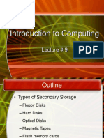 ITC Lecture09 (Storage Devices)