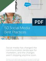 50 Social Media Best Practices 2017