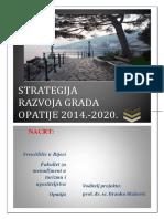 Nacrt Strategije Razvoja Grada Opatije