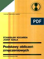 Podstawy Obliczeń Zmęczeniowych - S.kocańda, J.szala