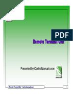 SCADA Remote Terminal Unit