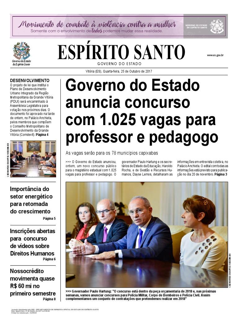 2c98e0e3dc451 Diario Oficial 2017-10-25 Completo