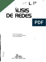 Análisis de Redes, 1ra Edición - M. E. Van Valkenburg