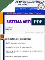 Articulaciones UNAM
