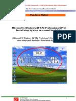 CARA INSTAL ULANG WINDOWS XP Sp2