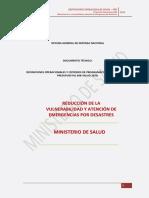 Definiciones Operacionales Ppr 068 2016