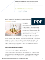 Recent Changes to the Law Governing Qualified Written Requests _ Consumer Financial Services Legal Update