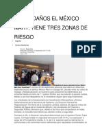 Sufre Daños El México Mart