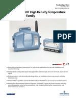 Product Data Sheet Rosemount 848t High Density Temperature Measurement Family Data