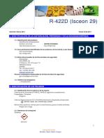 Ficha Seguridad R422D I29