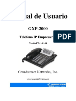 GXP-2000 User Manual_1.0.1.14_Spanish[1]