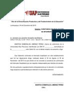 Solicititud Finalizacion de Inetrnado