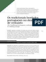 Os Tradicionais Bordados Portugueses