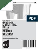 Instrucciones Gardenia 2014
