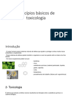 Princípios Básicos de Toxicologia Parte 1