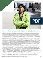 Patria Jiménez, La Activista Lesbiana Que Quiere Gobernar Ciudad de México _ Desastre