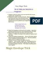 Easy Magic Trick