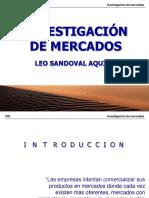 Investigacion de Mercados - Leo Sandoval Aquino