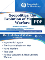 005 - Geopolitics - The Evolution of Modern Warfare -ROHarmsen