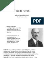 Test de Raven - Explicaciones Del Test