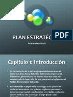 Plan Estratégico introduccion