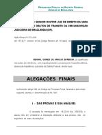 Alegações Finais -Negativa de Autoria_francisco Adriano Ferreira Fonteneles