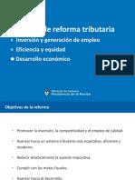 Reforma Tributaria - Lineamientos