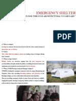 Presentation Emergency Shelter