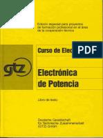 Curso de  Electrónica de Potencia