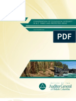 Conservation of Ecological Integrity in B.C. Parks and Protected Areas