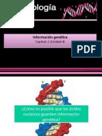 Información genética.pps