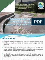 PROGRAMA DE GESTION INTEGRAL HUATANAY (Mesa Coordinadora).ppt