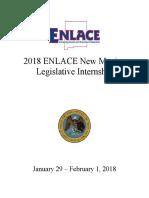 2018 ENLACE Legislative Internship Application--NORTHWESTERN