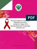 2014 - Permenkes RI No. 87 Tahun 2014 Tentang Pedoman Pengobatan ARV