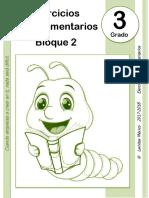 3er Grado - Bloque 2 - Ejercicios Complementarios