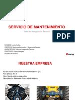 Servicio de mantenimiento