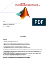 MATLAB (Angulos de Euler - 2da Edicion)