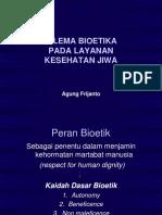Dilema Bioetika Keswa