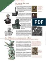 Les Bustes et le Monument de la Défense