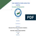 Educación Para la Paz tarea II