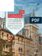 Progression Plus Guide How to Study in Canada