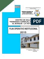 Plan Operativo Institucional El Bosque