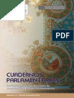 Cuadernos Parlamentarios N° 13, Primer Trimestre 2015