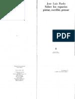 Pardo, José Luis - Sobre los espacios, pintar, escribir, pensar.pdf