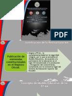 Modelo Educativo de FFAA 2016