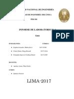 Informe quimica n°4 FIM UNI