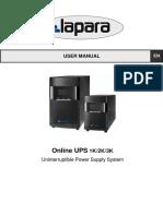 UPS Allsai 2k - Manual de Usuario (English-Espanol)