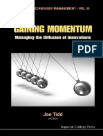 (Series on Technology Management 15) Joe Tidd-Gaining Momentum_ Managing the Diffusion of Innovations (Series on Technology Management - Vol. 15 ) -Imperial College Press (2010)