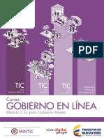 TIC Gobierno Abierto