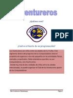 Programa y Objetivos de Los Aventureros